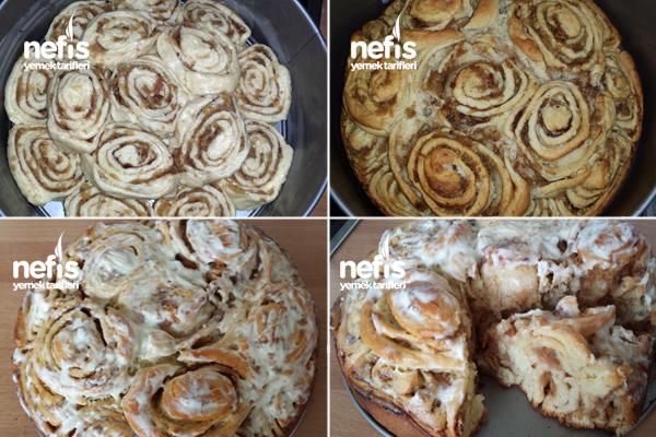 Elmalı Tarçınlı Çörek (Apfelschneken) 3