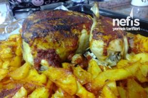 Fırında Bütün Tavuk Pişirme Tarifi