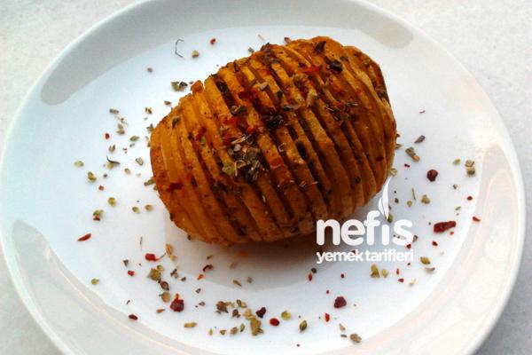 Fırında Kekikli Taze Patates Tarifi