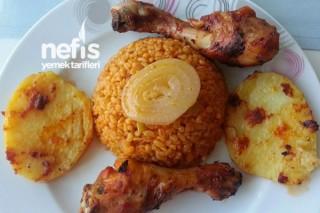 Fırında Tavuk Baget Yemeği Tarifi