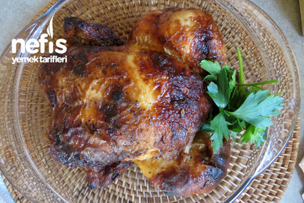 Fırında Tüm Tavuk Tarifi