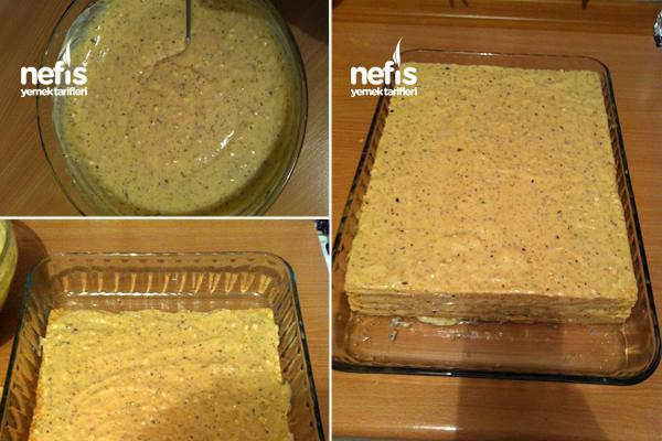Gofret Pastası ( Rus Mutfağından ) 3