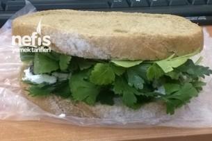 Kahvaltılık Diyet Sandviçler Yapılışı 1