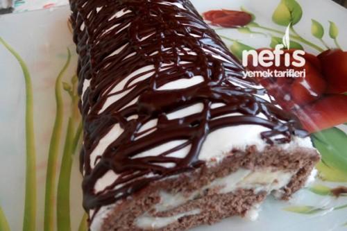 Tatlı tarifleri gt pasta tarifleri gt kakaolu çikolatalı rulo pasta