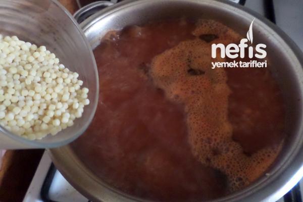 Kuskus Çorbası 3