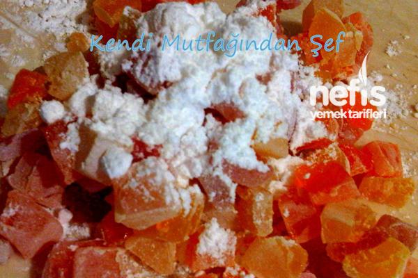 Lokum İle Şeker Hamuru Yapalım 2