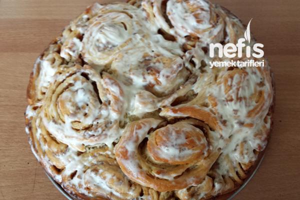 Elmalı Tarçınlı Çörek (Apfelschneken) Tarifi
