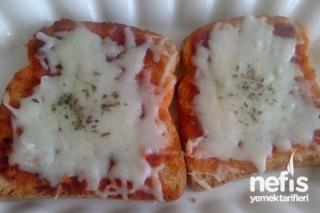 Pratik Kahvaltı Pizzası Tarifi