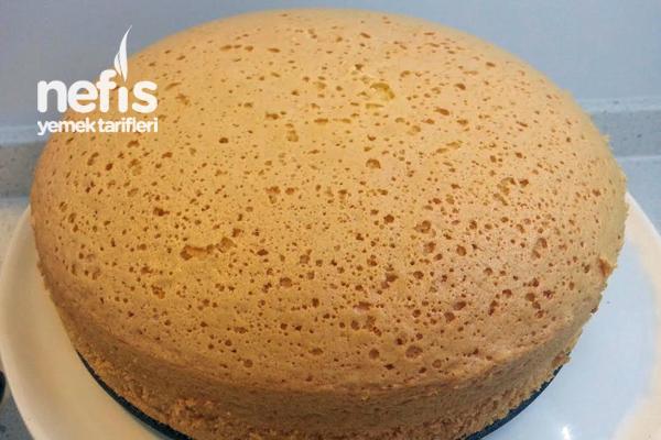 Sünger Pandispanya Keki (Pasta Keki Tarifi) 3