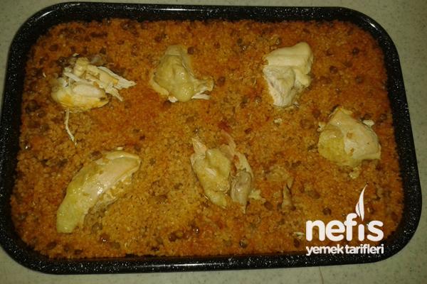Tavuk Kapama ( Mercimekli Bulgurlu) Tarifi
