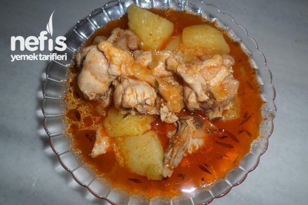 Tavuklu Patates Yemeği Tarifi