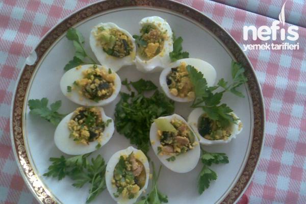 Yumurta Dolması Yapılışı Tarifi