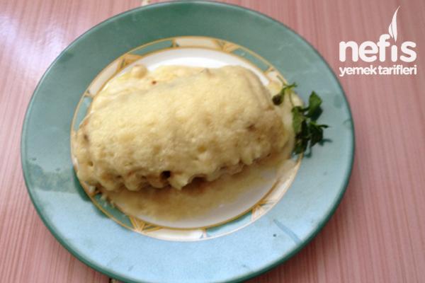 Beşamel Soslu Ve Köfteli Fırında Patates Tarifi