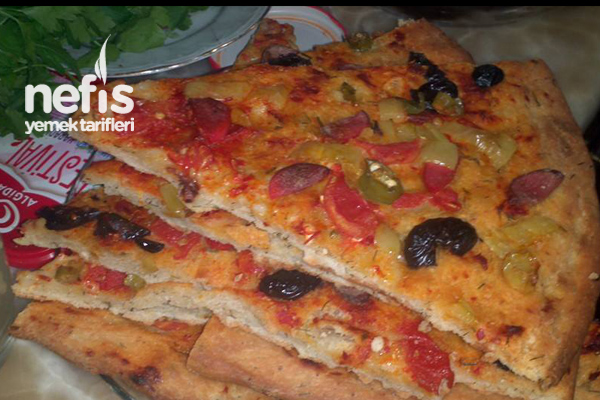 Dereotlu Pizza Tarifi