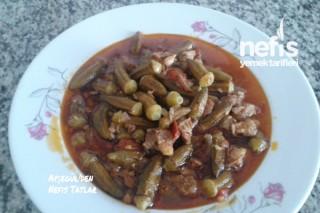 Etli Bamya Yemeği Yapımı Tarifi