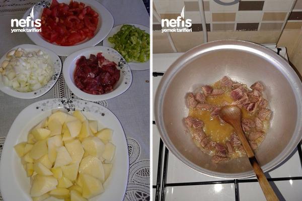Etli Patates Yemeği 1