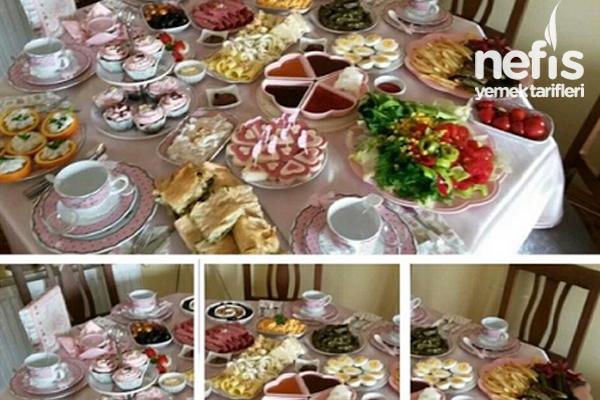 Geleneksel Dostlarla Pazar Kahvaltımız Tarifi