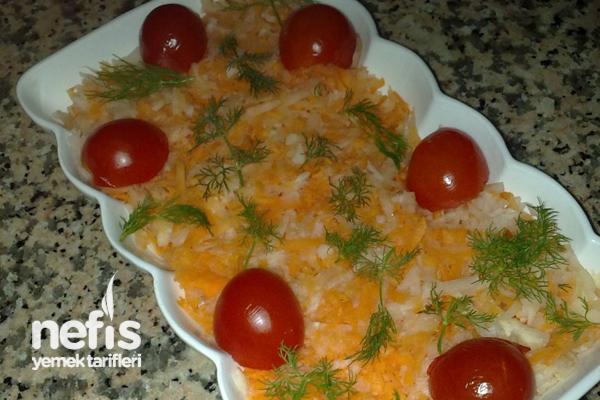Havuçlu Arabaşı Salatası Tarifi