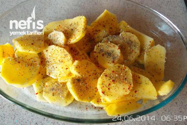 Kremalı Baharatlı Patates