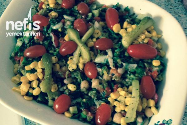 Maş Börülce Salatası Tarifi