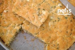 Maydonozlu ve Peynirli Kek Tarifi