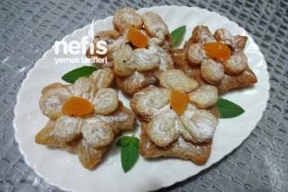 Milföy Hamurundan Çiçek Börek Tarifi