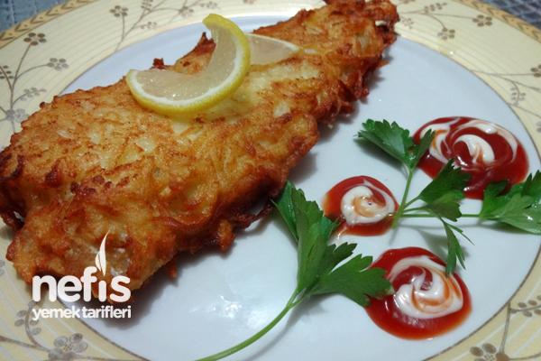 Patatesli Balık Giydirme Tarifi