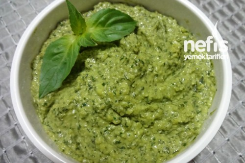 İtalyan fesleğen pesto sos: tarifi