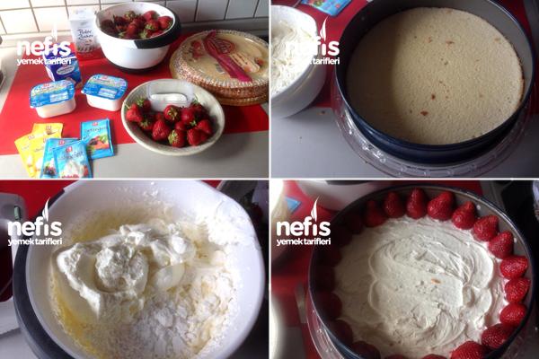 Pratik Çilek Pastası 1