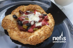 Simit Pizza Tarifi 1