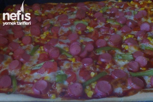 Sosisli Pizza Tarifi