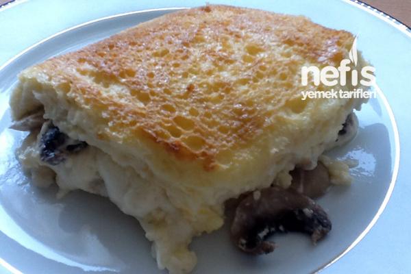 Tost Ekmeğinde Kremalı Mantar 4