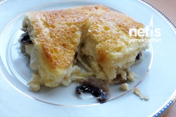Tost Ekmeğinde Kremalı Mantar Tarifi