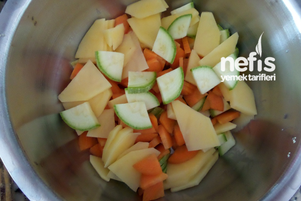Bebekler İçin Cevizli Sebze Çorbası 5
