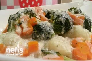 Brokoli – Karnabahar Salatası (soslu) Tarifi