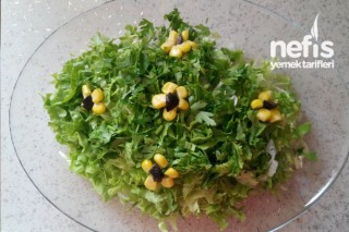 Çiçekli Salata Tarifi