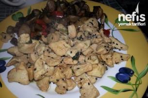 Çörekotlu Tavuk Göğsü Sote Tarifi