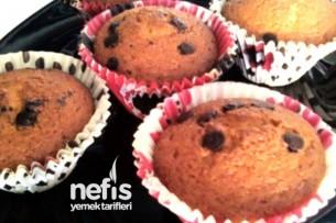 Damla Çikolatalı Muffin Yapılışı Tarifi