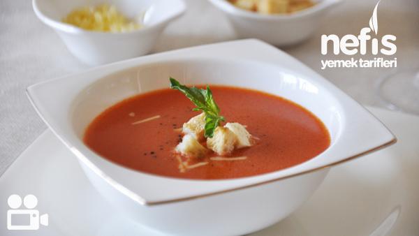 Sütlü Domates Çorbası Tarifi Videosu - Nefis Yemek Tarifleri