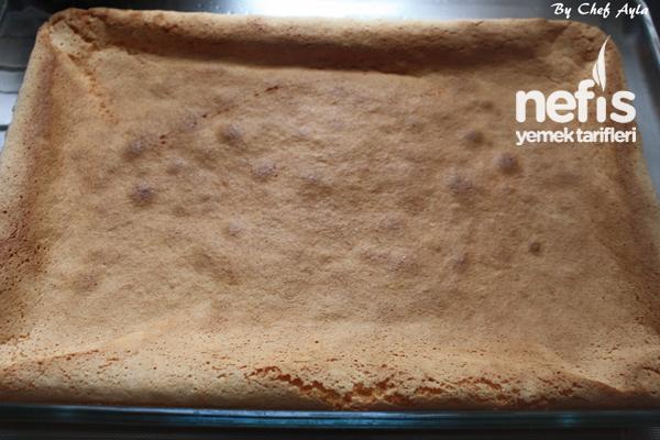 Enfes Yalancı Ekmek Kadayıf Tatlısı 5