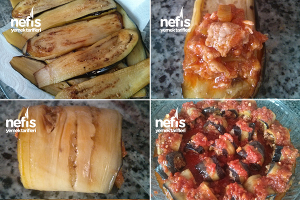 Etli Patlıcan Sarma 2
