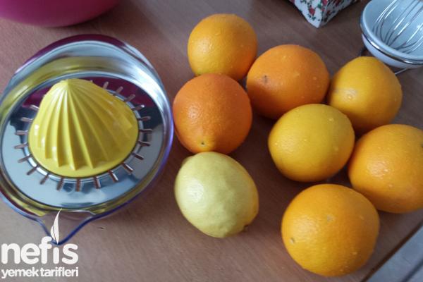 Ev Yapımı Portakallı Gazoz