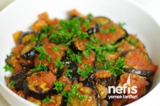Fırın Izgarasında Soslu Patlıcan Tarifi