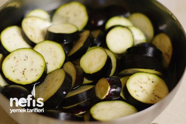 Fırın Izgarasında Soslu Patlıcan 2