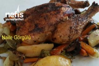 Fırında Bütün Tavuk Nasıl Pişirilir? Tarifi