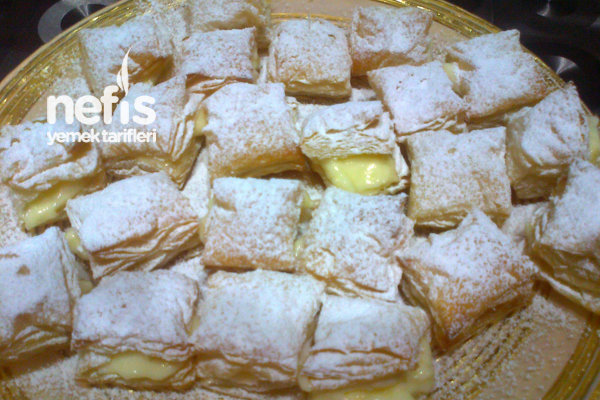 Milföylü Kolay Pasta Tarifi