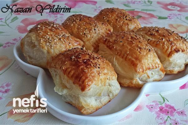 Peynirli Ve Nutellalı Milföy Börekleri Tarifi