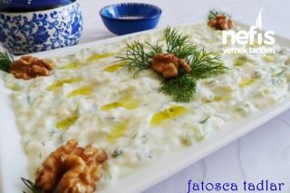 Salatalıklı Patatesli Meze Tarifi
