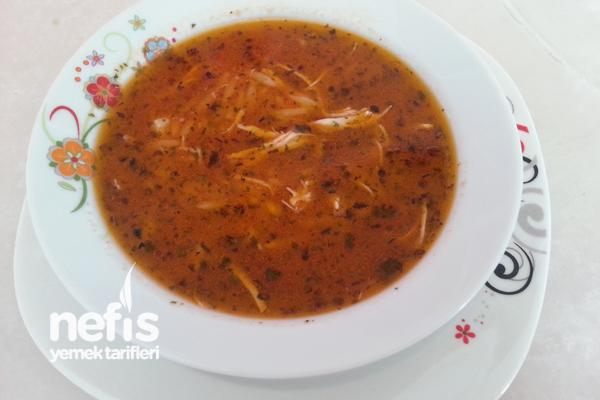 Şehriyeli Tavuk Çorbası (Bebekler İçin) Tarifi