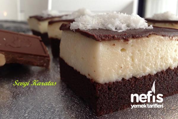 Şerbetli Çikolata Kare Tatlısı Tarifi